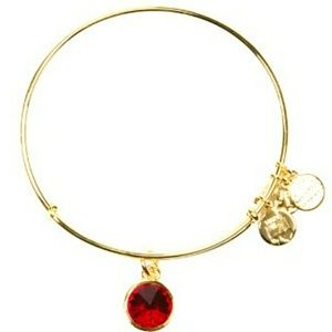 ALEX & ANI July birthstone bracelet